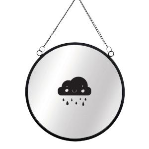 Raincloud Circular Mirror