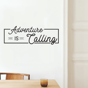 Adventure Is Calling Wall Decal