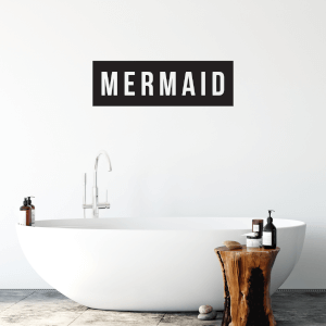Mermaid Wall Art Vinyl