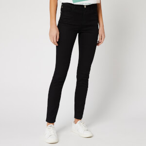 Emporio Armani Women's Skinny Fit Jeans - Black