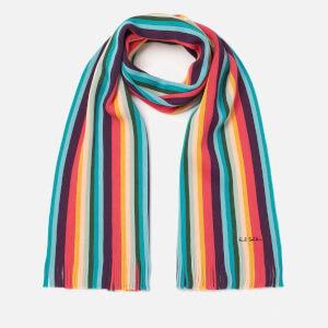 Paul Smith Men's Artist Stripe Scarf - Multi