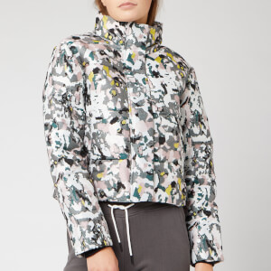 Superdry Women's Jacquard Puffer Jacket - Grey Camo