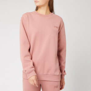 Superdry Women's Ol Elite Crew Sweatshirt - Smoke Rose