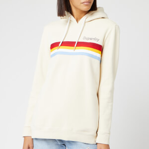 Superdry Women's Retro Hoodie - Cloud Cream
