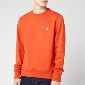 PS Paul Smith Men's Zebra Crew Sweatshirt - Orange
