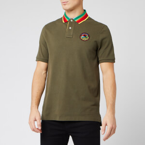 Polo Ralph Lauren Men's Sportsman Hockey Puck Polo Shirt - Expedition Olive