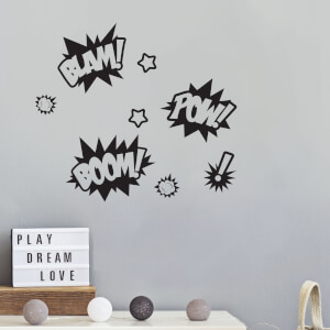 Comic Lettering Pack 1 Decal Pack