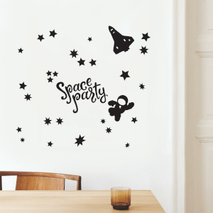 Space Party Decal Pack