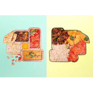 Indian Takeaway Puzzle 250pcs
