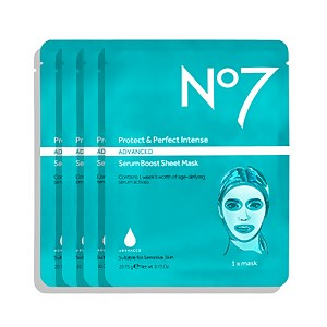 Protect & Perfect Intense Advanced Serum Boost Sheet Mask (4 Pack)