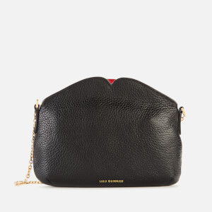 Lulu Guinness Women's Medium Peekaboo Lip Clutch Bag - Black