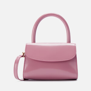 by FAR Women's Mini Semi Patent Leather Tote Bag - Pink