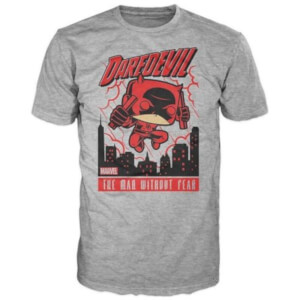 Funko Marvel Daredevil T-Shirt - Grey