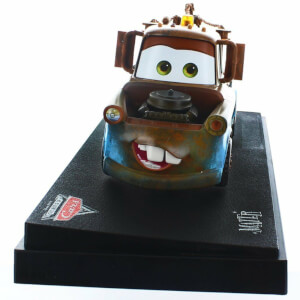 Statua da collezione pressofusa in scala 1:24 di Carl Attrezzi, Cars, Disney - Mattel