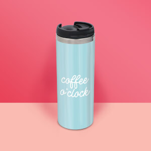 Coffee O'Clock Stainless Steel Travel Mug