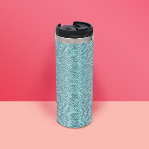 Motherboard Pattern Stainless Steel Travel Mug