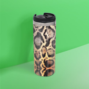 Snake Print Stainless Steel Travel Mug