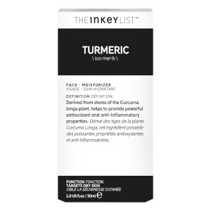 The INKEY List Turmeric Moisturiser 30ml: Image 3