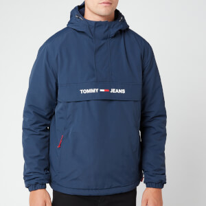 Tommy Jeans Men's Padded Popover Jacket - Black Iris