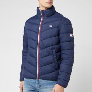 Tommy Jeans Men's Essential Puffer Jacket - Black Iris