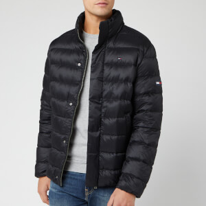 Tommy Jeans Men's Light Down Jacket - Tommy Black