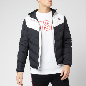 Kappa Men's Padded Down Jacket - Black