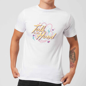 Talk To The Hand Men's T-Shirt - White