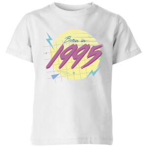 Born In 1995 Kids' T-Shirt - White