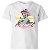 Rexecellent! Kids' T-Shirt - White