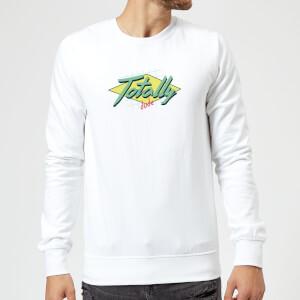 Totally Dude Sweatshirt - White