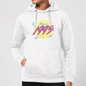 Born In 1995 Hoodie - White