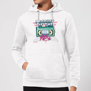 Product Of The 90's VHS Tape Hoodie - White
