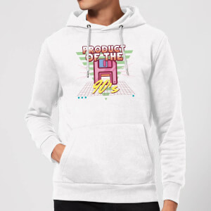 Product Of The 90's Floppy Disc Hoodie - White