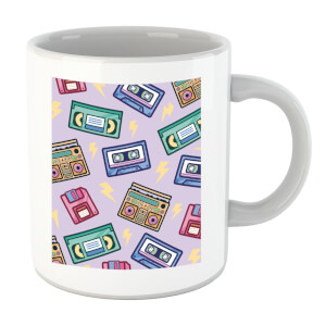 90's Product Scattered Pattern Mug