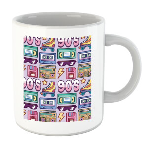 90's Product Tiled Pattern Mug