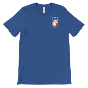 'That's The Tea' USA World Cup Pocket Badge T-Shirt - Blue