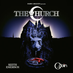 Death Waltz The Church Soundtrack Blue LP