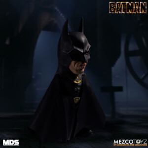 Figurine articulée Batman MDS Deluxe (15cm), Batman (1989)– Mezco