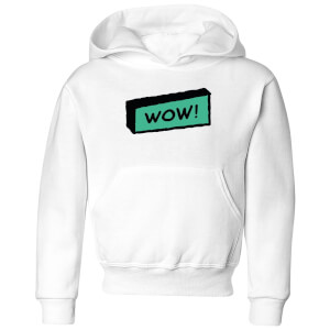 Wow! Kids' Hoodie - White