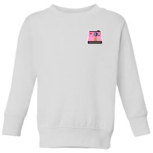 Small Polaroid Kids' Sweatshirt - White