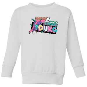 Always Young Kids' Sweatshirt - White