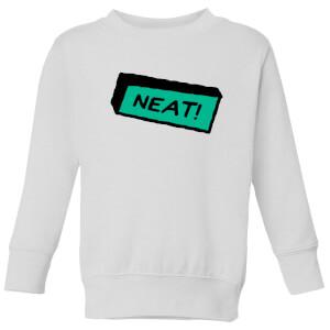 Neat! Kids' Sweatshirt - White