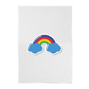 Rainbow Cotton Tea Towel