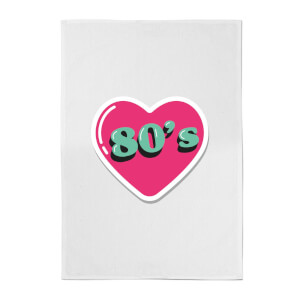 80s Love Cotton Tea Towel
