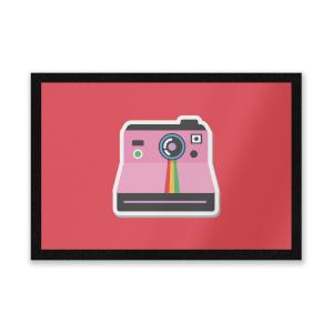 Polaroid Entrance Mat