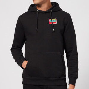Small Cassette Tape Hoodie - Black