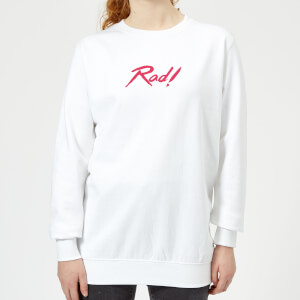 Rad! Women's Sweatshirt - White