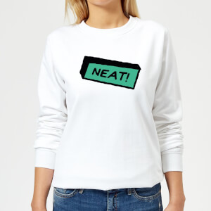 Neat! Women's Sweatshirt - White
