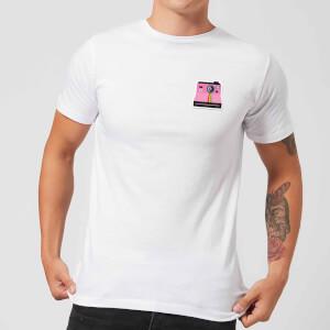 Small Polaroid Men's T-Shirt - White