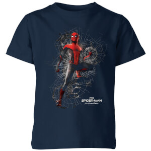 Spider-Man Far From Home Upgraded Suit Kids' T-Shirt - Navy